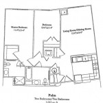 Two Bedroom 1012 Sq Ft