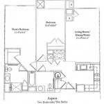 2 Bedroom (Aspen) 1031 Sq Ft $ Call For Pricing