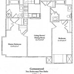 Two Bedroom 1034 Sq Ft