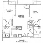 Two Bedroom 953 Sq Ft