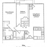 Two Bedroom 991 Sq Ft