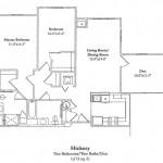 Two Bedroom w/Den 1172 Sq Ft